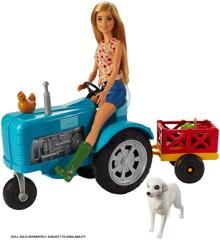 Barbie - Sweet Orchard Farm Tractor (GFF49)