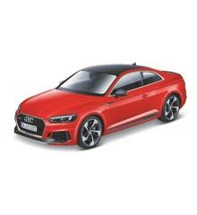 Bburago - Audi RS 5 Coupe 2019 - 1:24 Rød