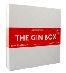 1423 - The Gin World Gin Tour Gaveæske 2020 10 x 50 ml