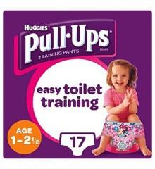 Huggies - Pull Up Princess 1-2 år -17 Pcs