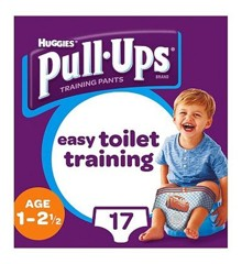 Huggies - Pull Up Cars 1-2 år -17 Pcs