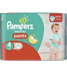 Pampers - Active Fit Nappy Pants Size 4 27 Pcs