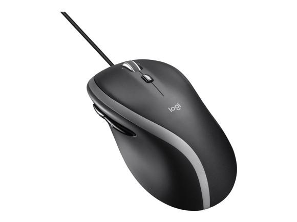 Logitech - M500S Mouse - Black - Cable