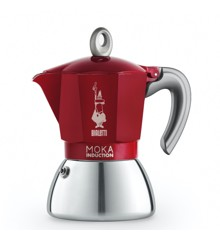 Bialetti - Moka Induction 6 Cup Edition 2.0 - Red (6946)