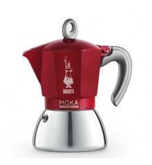 Bialetti - Moka Induktion Edition 2.0 -  6 Kopper - Rød
