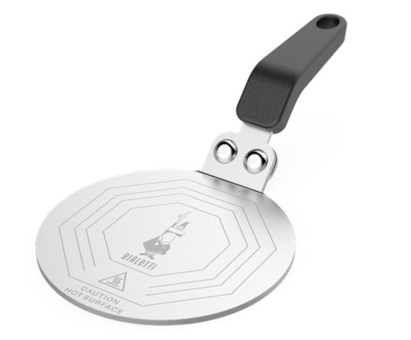 Bialetti - Inductionplate Ø 13 cm - Silver (DCD08)