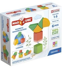 Geomag - Magicube 3 Shapes Recycled Starter Set 6 (200)