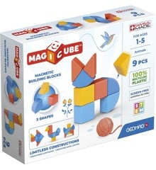 Geomag - Magicube 3 Shapes Recycled Animals 9 (201)