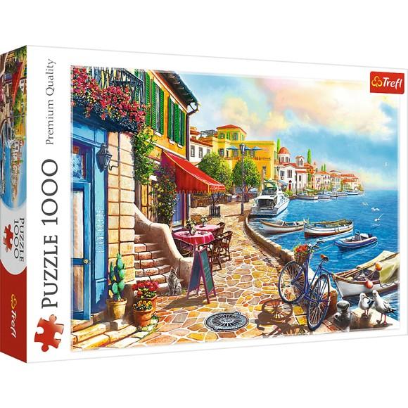 Trefl - Puzzle 1000 pc - Sunny embankment (10527)