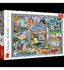 Trefl - Puzzle 1000 pc - Italian Holiday (10585)