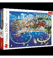 Trefl - Puzzle 2000 pc - San Francisco Bay (27107)