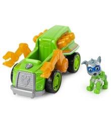 Paw Patrol - Mighty Pups Super PAWs Deluxe Køretøj - Rocky