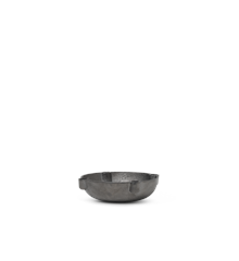 Ferm Living - Bowl Lysestage Small - Sort Messing