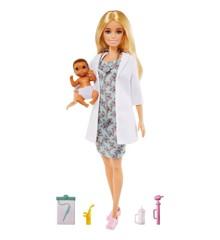 Barbie - Børnelæge Dukker (GVK03)