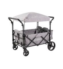 Babytrold - Fun Klapvogn til 4 Børn - Grå