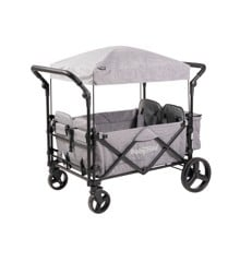 Babytrold - Fun Trolley for 4 children - Grey