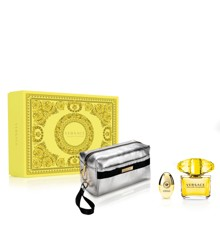 Versace - Yellow Diamond EDT 90 ml +  EDT 10 ml + Pouch - Giftset