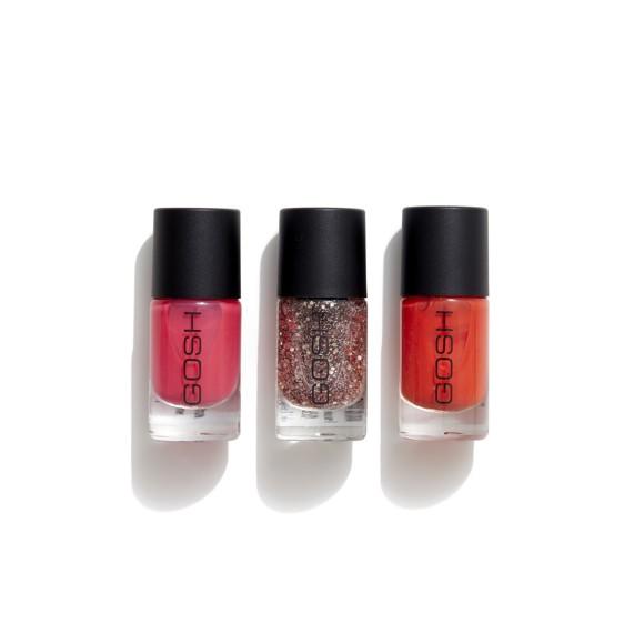GOSH - Beauty Kit 3 Pack Nail Lacquer