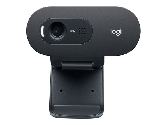 Logitech C505 HD Webcam - Black