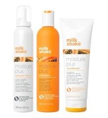 milk_shake - Moisture Plus Shampoo 300 ml + Conditioner 250 ml+ Moisture Plus Whipped Cream 200 ml