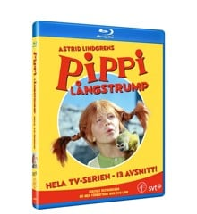 Astrid Lindgren: Pippi Långstrump - Box (Blu-Ray)