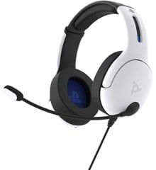 PDP LVL50 Wired Headset for PS4 and Playstation 5 White