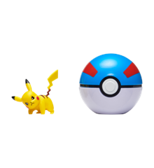 Pokemon - Clip'N Go - Pikachu + Great ball (PKW0043)