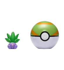 Pokemon - Clip'N Go - Oddish + Nest Ball (PKW0006)