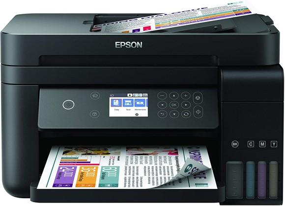 Epson - EcoTank ET-3750 Unlimited 3-in-1 Printer Wi-Fi