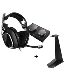 Astro - A40 TR Headset + MixAmp Pro TR for Xbox One & PC + Headset Stand BUNDLE