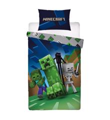 Sengetøj - Voksen str. 140 x 200 cm - Minecraft