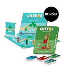 Cheers + Over Grænsen - Fest Spil (Bundle)