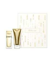 Michael Kors - Sexy Amber EDP 50 ml + Silky Body Lotion 75 ml - Gavesæt
