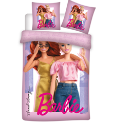 Sengetøj - Voksen str. 140 x 200 cm - Barbie