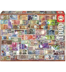 Educa - Puzzle 1000 - World Banknotes (017659)