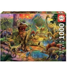 Educa - Puzzle 1000 - Land of Dinosaurs (017655)