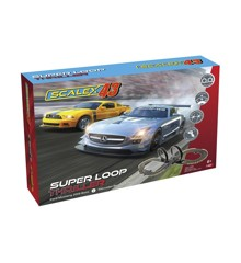 Scalextric - Scalex43 - Super Loop Thriller Sæt - Racerbil Bane