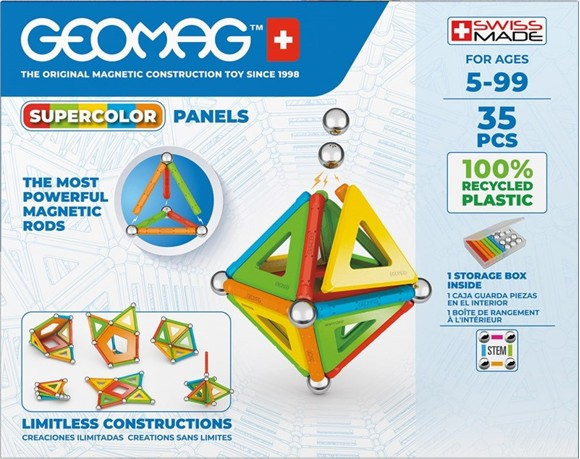 Geomag - Supercolor Panels Recycled 35 (337)