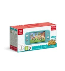 Nintendo Switch Lite Turquoise & Animal Crossing + 3M NSO