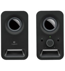 Logitech - Z150 Stereo Speakers - Midnight Black
