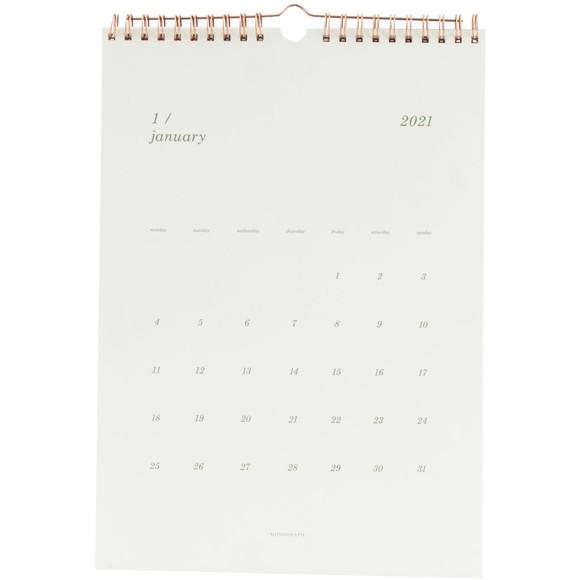House Doctor - Vægkalender 2021 - Hvid