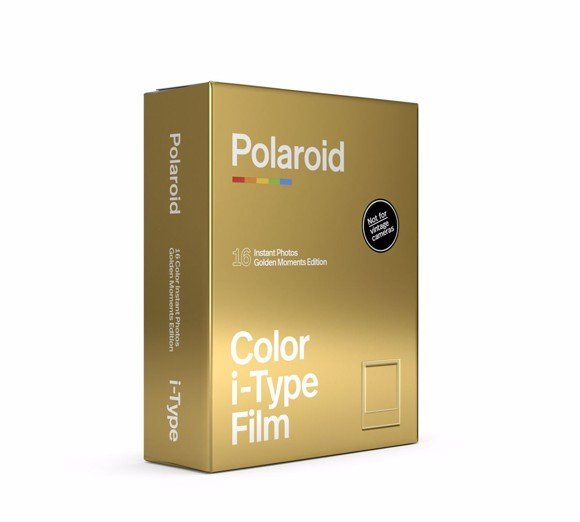 Polaroid I-TYPE COLOR FILM GOLDEN MOMENTS 2-PACK