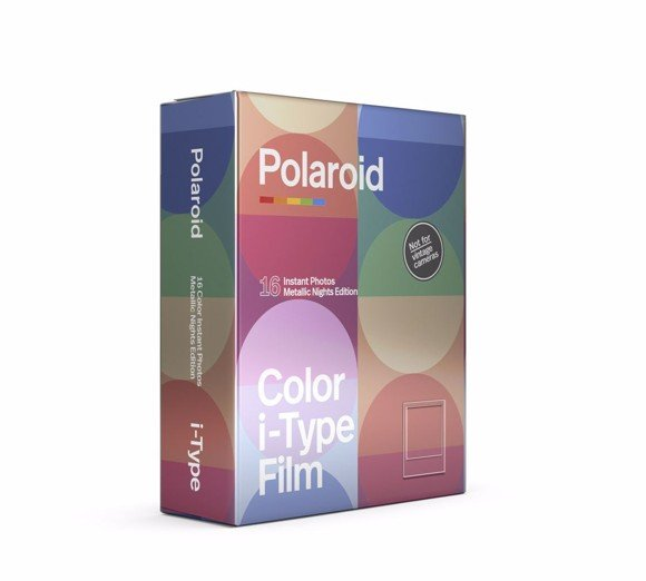 Polaroid I-TYPE COLOR FILM METALLIC NIGHTS 2-PACK