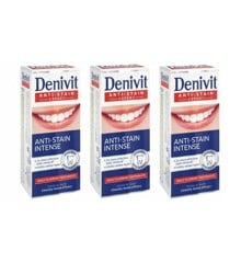Denivit - 3 x Tandpasta Whitening 50 ml