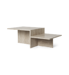 Ferm Living - Distinct Sofa Table - Travertine (1005362762)
