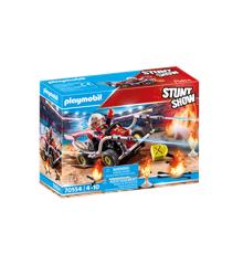 Playmobil - Stuntshow Firefighter Kart (70554)