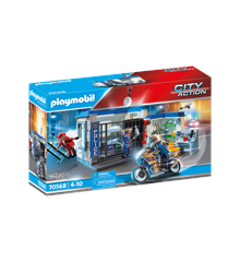 Playmobil - Police: Escape from prison (70568)