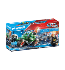 Playmobil - Police-Kart: Pursuit of the vault robber (70577)