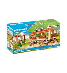 Playmobil - Pony Shelter med mobilehome (70510)