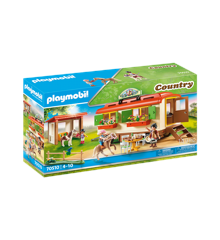 Playmobil - Pony Shelter with Mobile Home (70510)